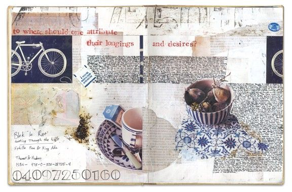 A Recipe for Yorkshire Pudding, Book no.13, artist journal by Gerard Lange