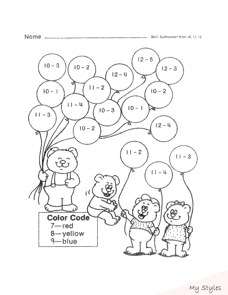 2nd Grade Worksheets Best Coloring Pages For Kids Math Drawing In 2020 Fun Math Worksheets Free Math Worksheets Math Coloring Worksheets