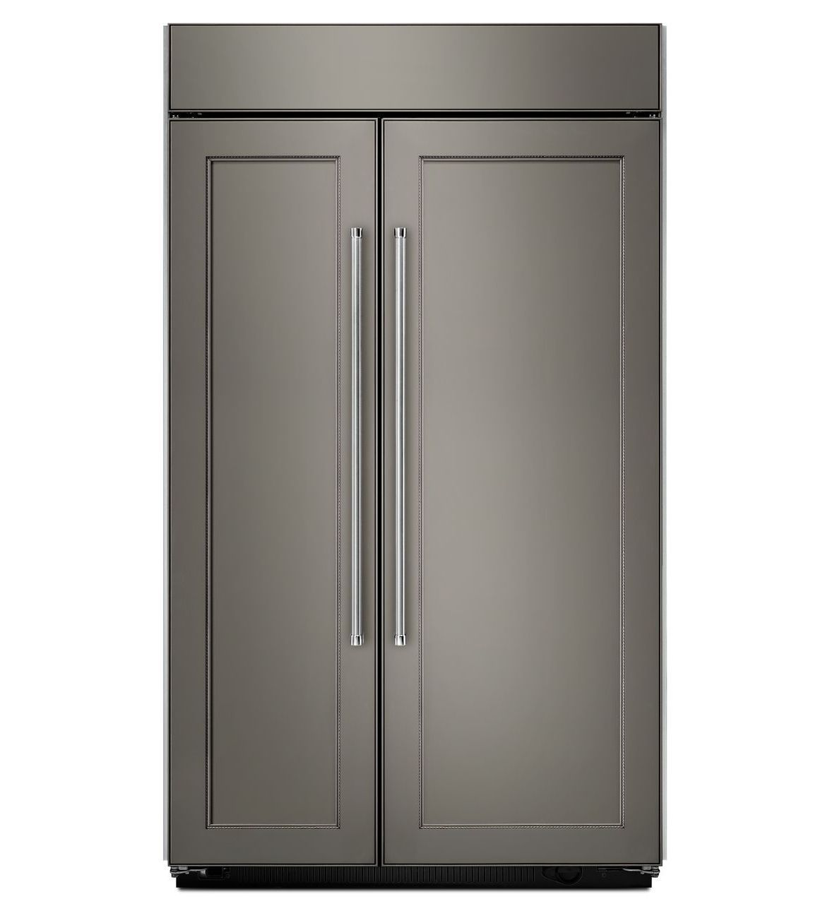 42571b90c691af296a641c3ecc4e0cb8 Kitchenaid - 29.5 Cu. Ft. Side-by-side Built-in Refrigerator - Stainless Steel