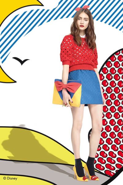 Red Valentino 2014-15 Collection>> on the blog now #redvalentino #popart #snowwhite