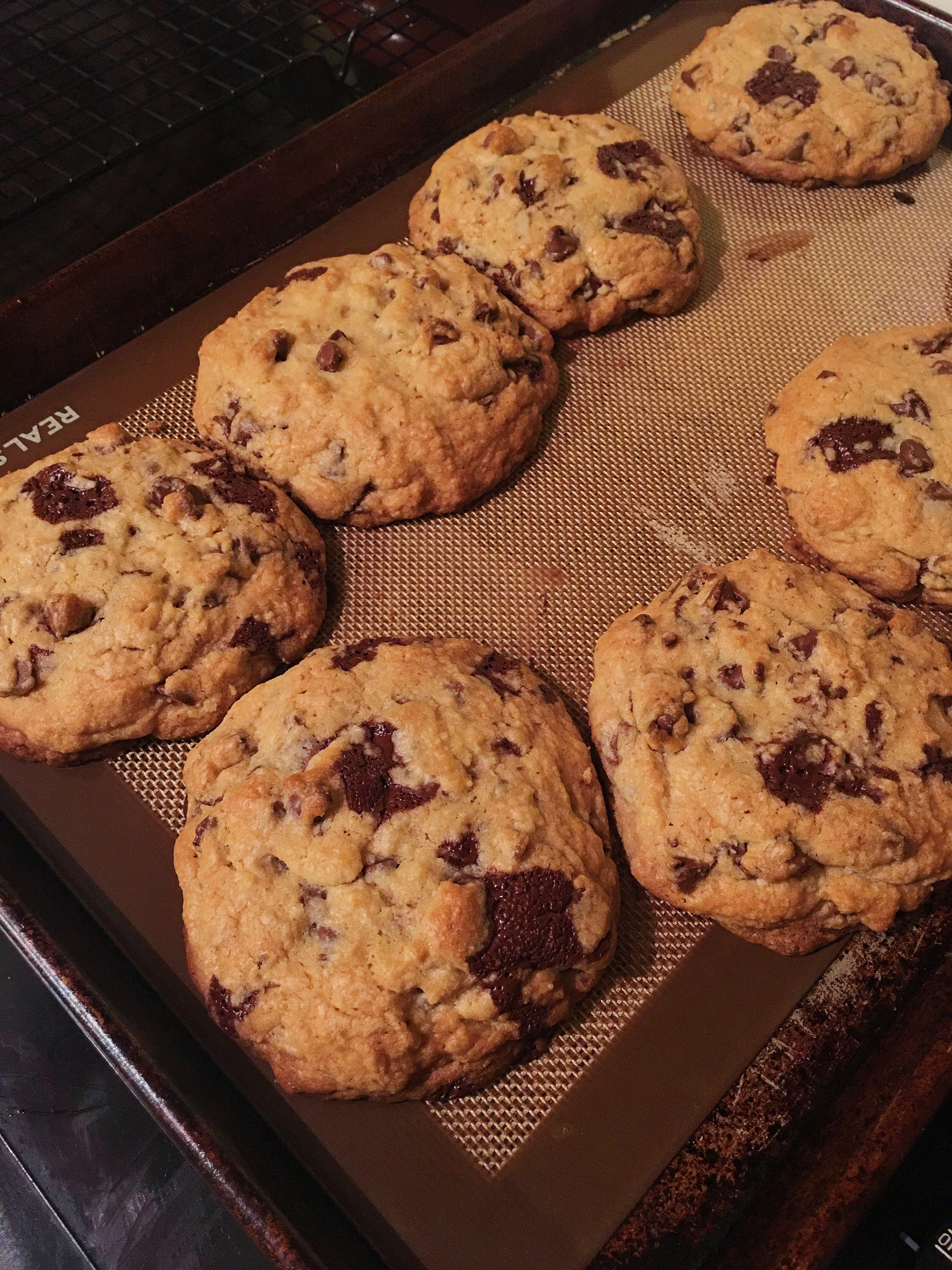 Levain bakery copy cat cookies....heaven.