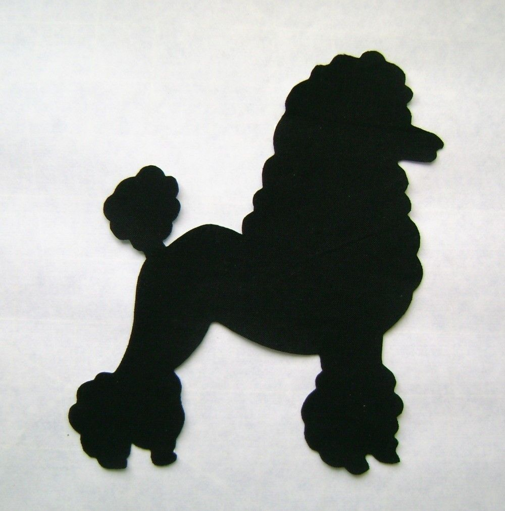 Image detail for -50\'s Poodle Patch Applique by ArtistryQuilts on ...