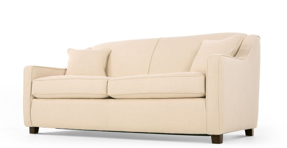 Halston Sofa Bed In Cream Made