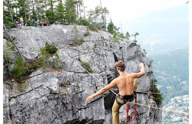 Slacklining: Walking the fine line of serenity
