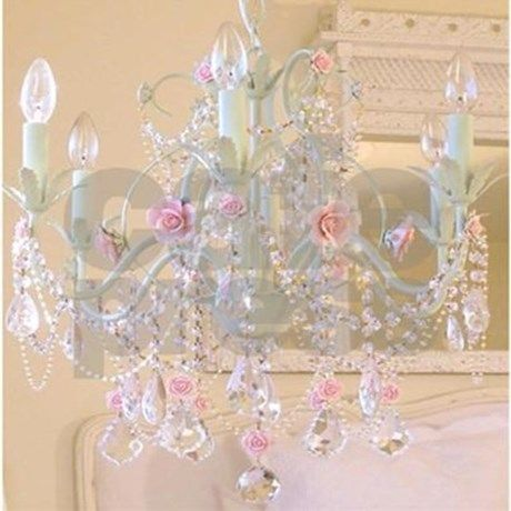 Shabby Chic Chandelier Tile Coaster images