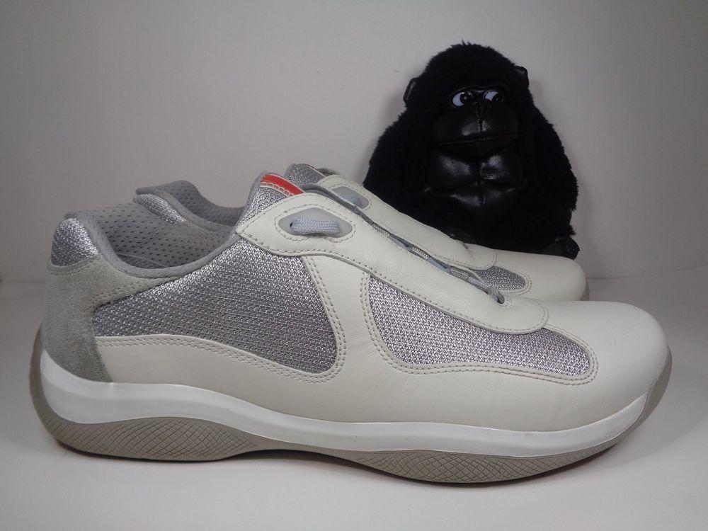 Mens Prada Calzature UOMO PS 0906 sneakers shoes size 9.5 US