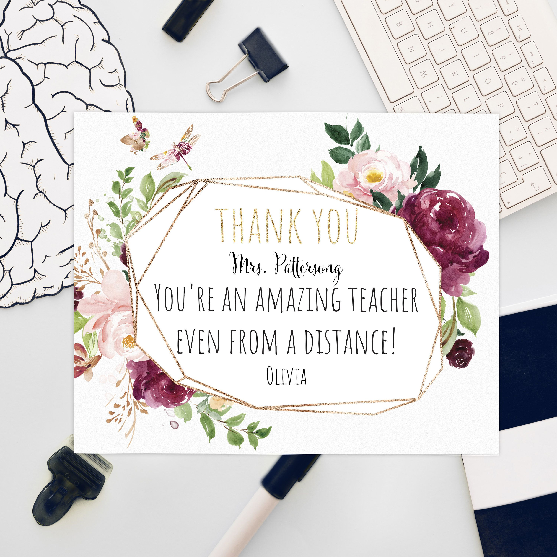 Quarantine Greeting Card Online Teacher Time to Zoom