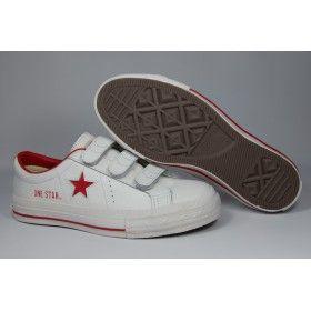 Converse One Star Sneaker White-Red  f3e37f3fb