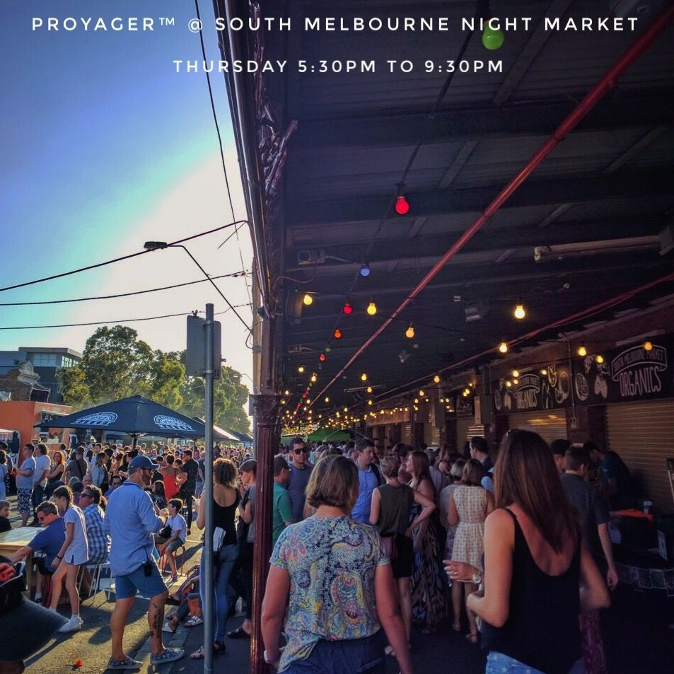Excitement builds as we gear up for tomorrow night @southmelbournenightmarket  Come join the buzz, let the music feed your soul, tantalise your taste buds with an array of awesome street food, and pick up something special from the many unique stalls on display. See you there!   #southmelbournenightmarket #southmelbournemarket #nightmarket #market #southmelbourne #melbourne #australia #livemusic #streetfood #foodtrucks #beverages #fashion #accessories #gifts #homewares #proyager #bags
