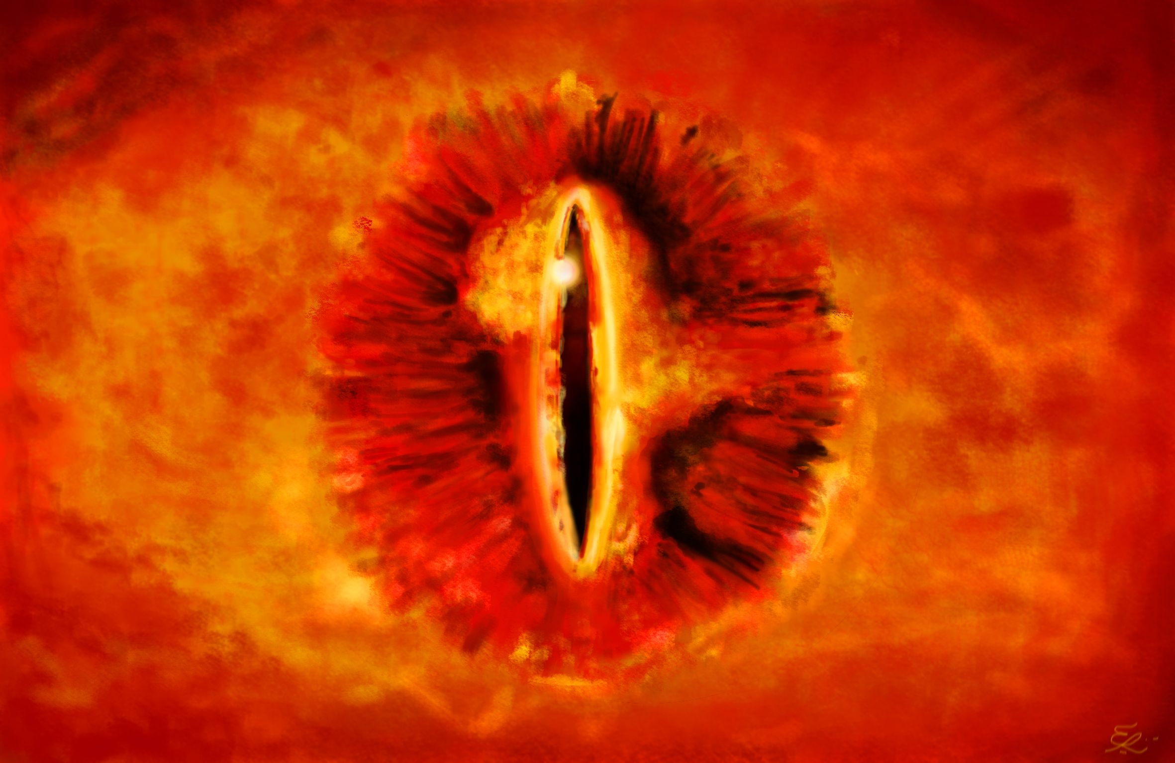 oko Saurona