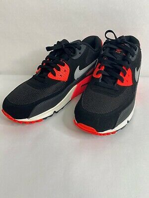 Nike Air Max 90 Essential Black Wolf Grey Atomic Red Anthracite