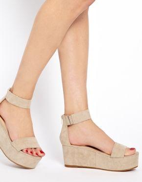 73c86ff3465 Faux Suede Flatform Sandals Flatform Sandals Outfit