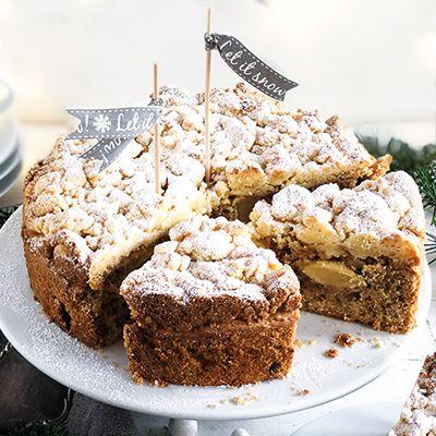 Winter Wunderland Apfelkuchen von Meine Küchenschlacht • Maras Wunderland