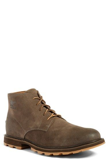 Free shipping and returns on Sorel 'Madson' Chukka Boot (Men) at Nordstrom.com. Hearty, waterproof suede defines a rugged chukka boot built with a molded EVA footbed for superior comfort.