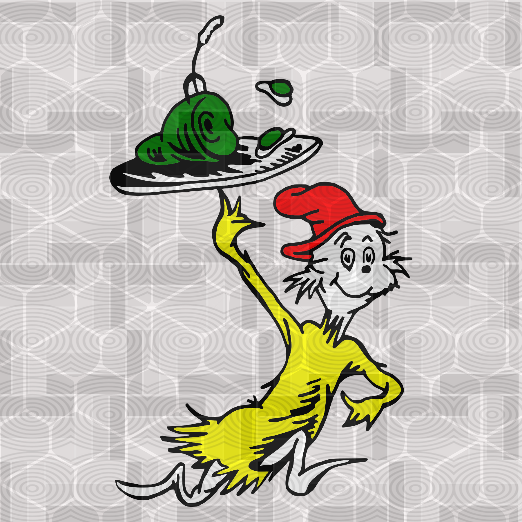 Green Eggs And Ham By Dr Seuss Green Egg And Ham Green Eggs Svg Cat In The Hat Thing 1 Thing 2 Green Eggs And Ham Dr Seuss Birthday Seuss