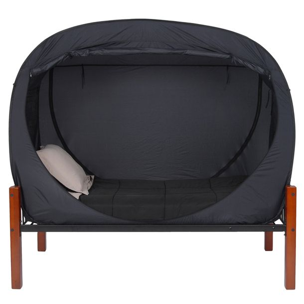 Pop-up tents for your bed. Sleeping in absolute darkness? Yep. I  sc 1 st  Pinterest & Pop-up tents for your bed. Sleeping in absolute darkness? Yep. I ...