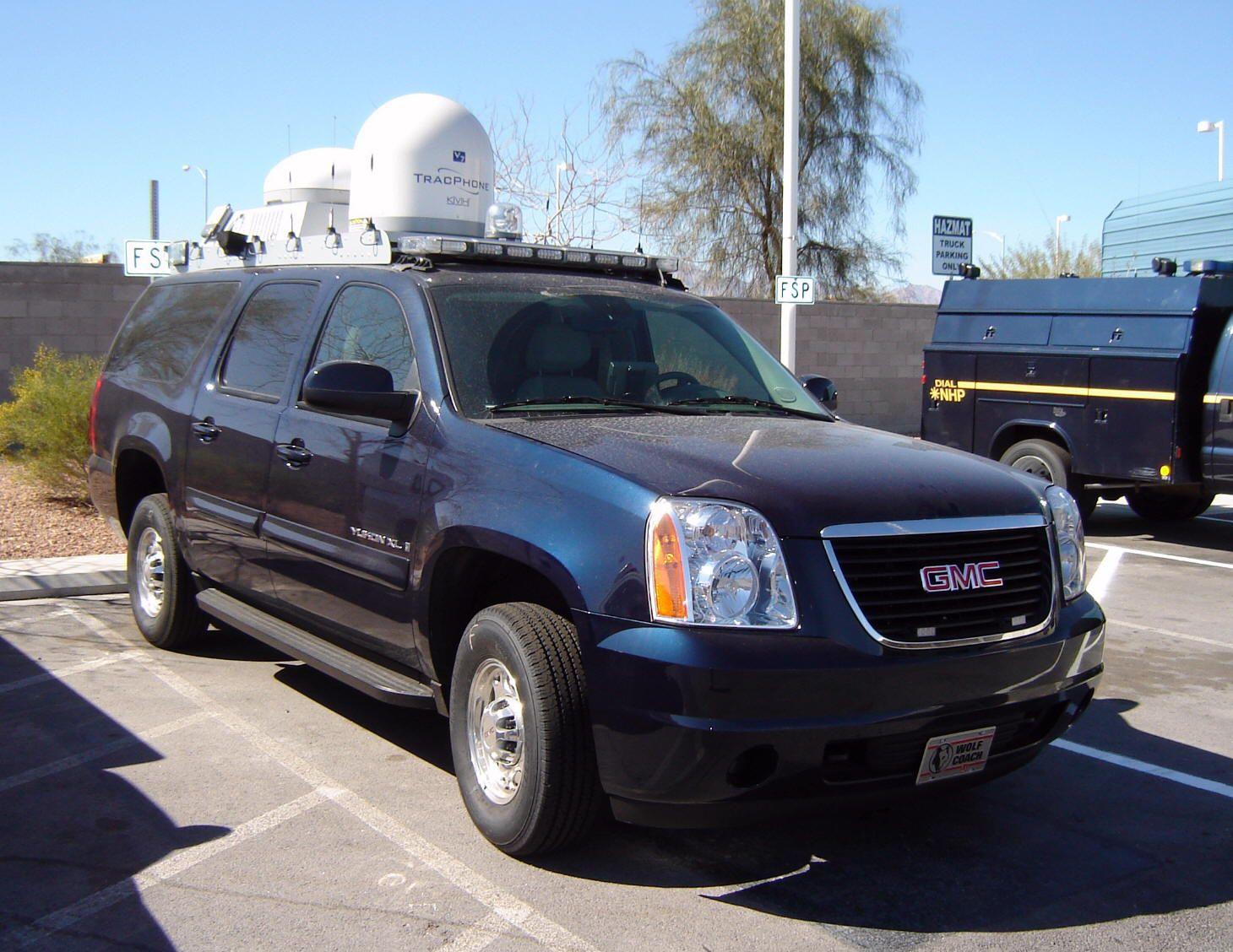 Nevada Highway Patrol 2008 Gmc Yukon Unmarked Command Unit