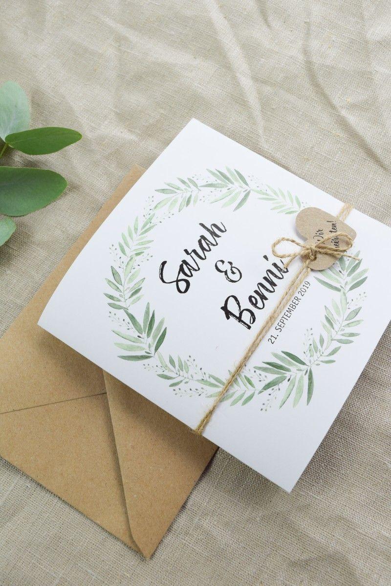 einladungskarte vintage hochzeit | marry & you | karte