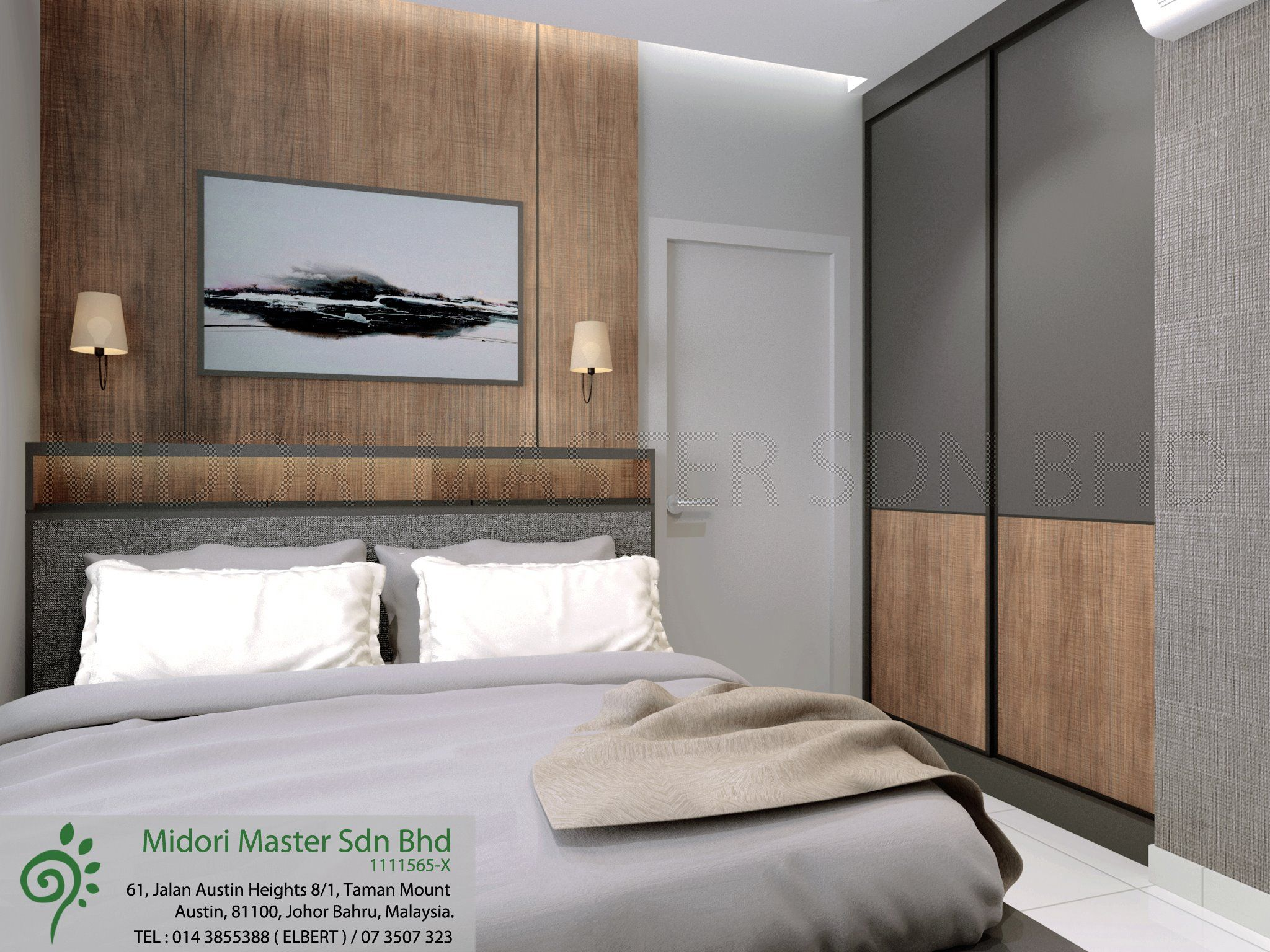D'interieur Sdn Bhd Concept Muji Style Sky Peak Residence Apartment Designed By