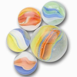 Tri Color Cat S Eye Toy Marbles 12mm Bulk Bag Marble Marble Toys Glass