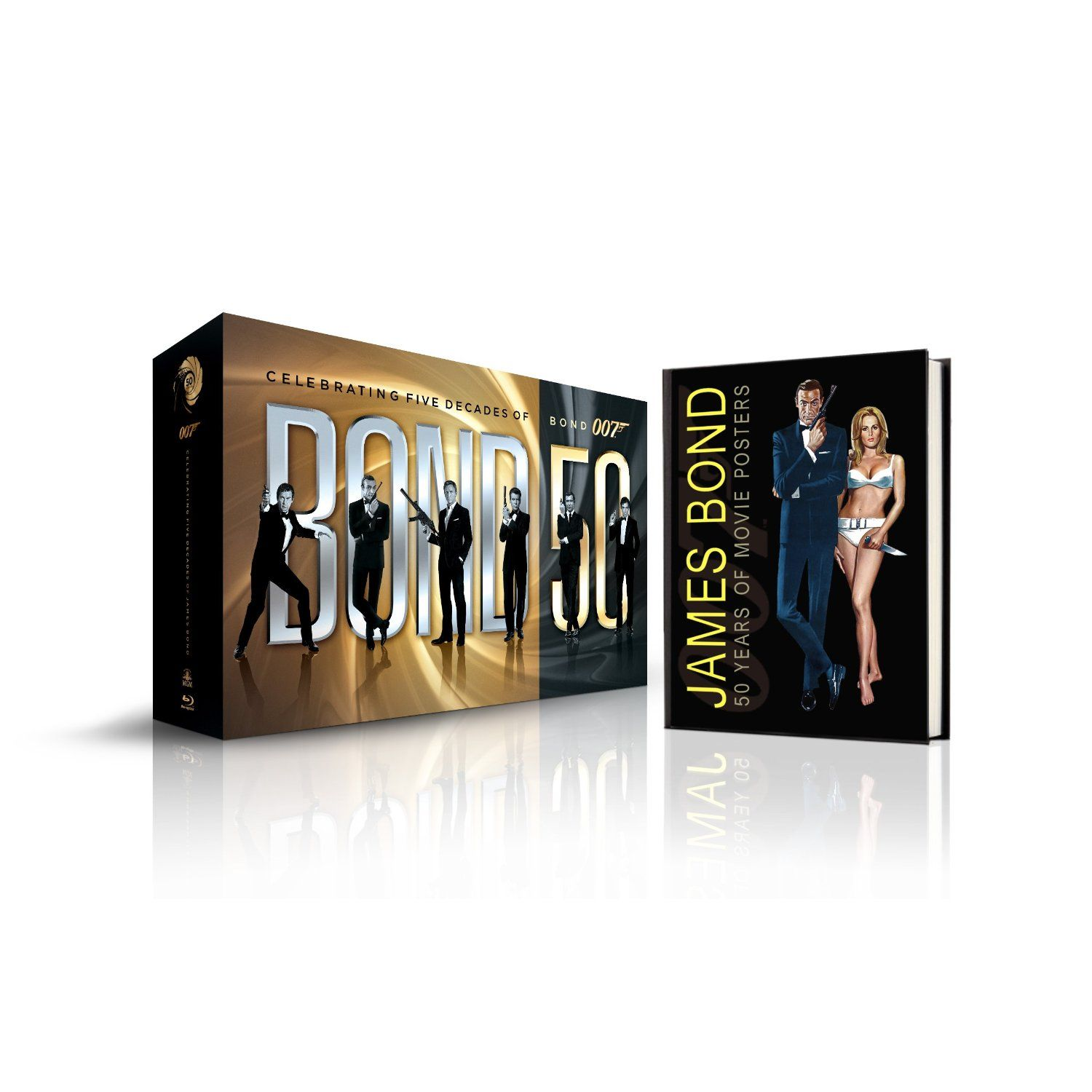 Bond 50 The Complete 22 Film Collection With Limited Edition