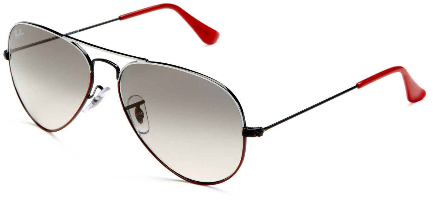 Ray Ban Red And White Frame