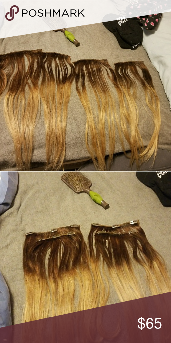 Euronext 18 inch hair extensions ash brown ash blonde and thin hair euronext 18 inch hair extensions pmusecretfo Choice Image