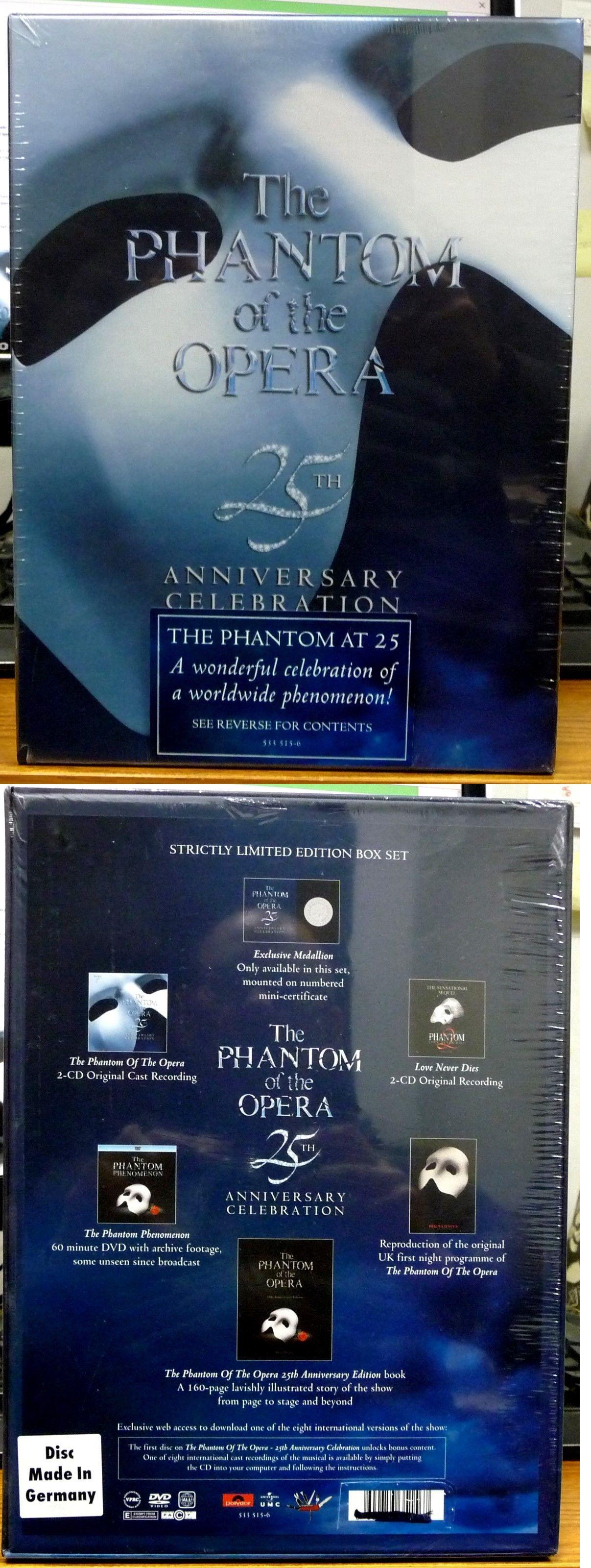 phantom 25th anniversary box set