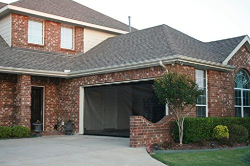 Snap On Screens 10x8 Garage Screen Garage Door Sizes Garage Door Insulation Kit Garage Door Design
