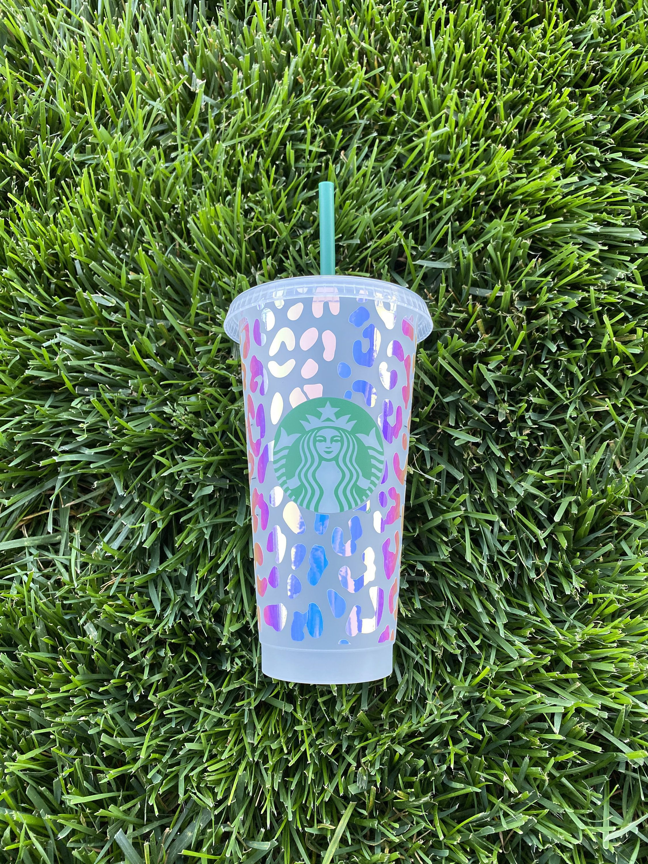 Leopard Print Starbucks Cup Cheetah Starbucks Cup
