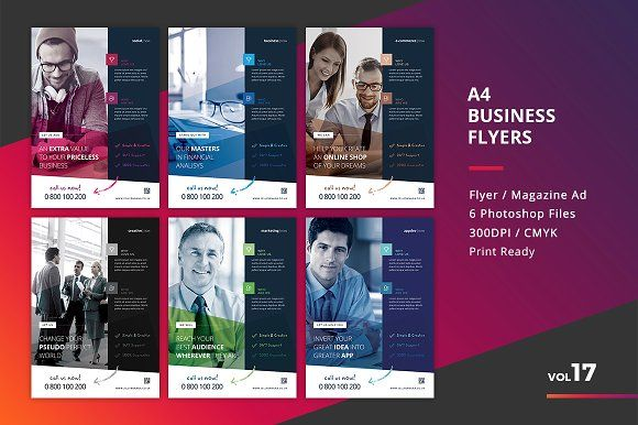 Corporate Flyer Templates Psd   By Alexlasek On