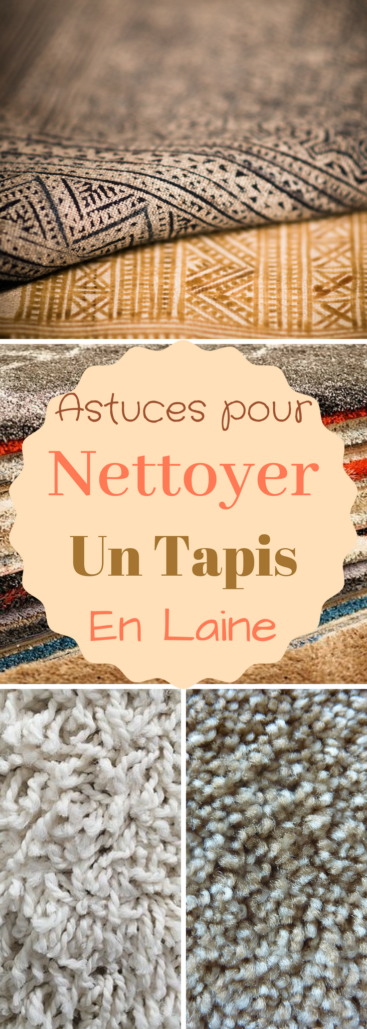 astuces comment nettoyer un tapis en laine astuces. Black Bedroom Furniture Sets. Home Design Ideas