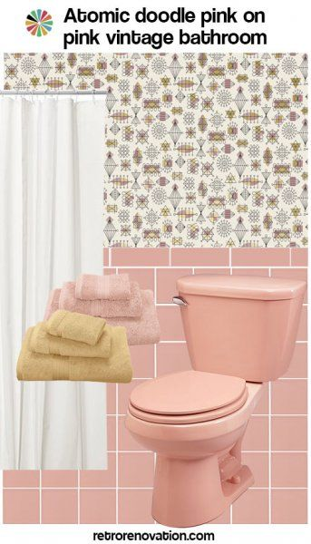 99 Ideas To Decorate A Pink Bathroom Complete Slide Show With