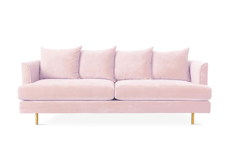 The Margot Sofa Epitomizes Modern Elegance With Graceful Arms