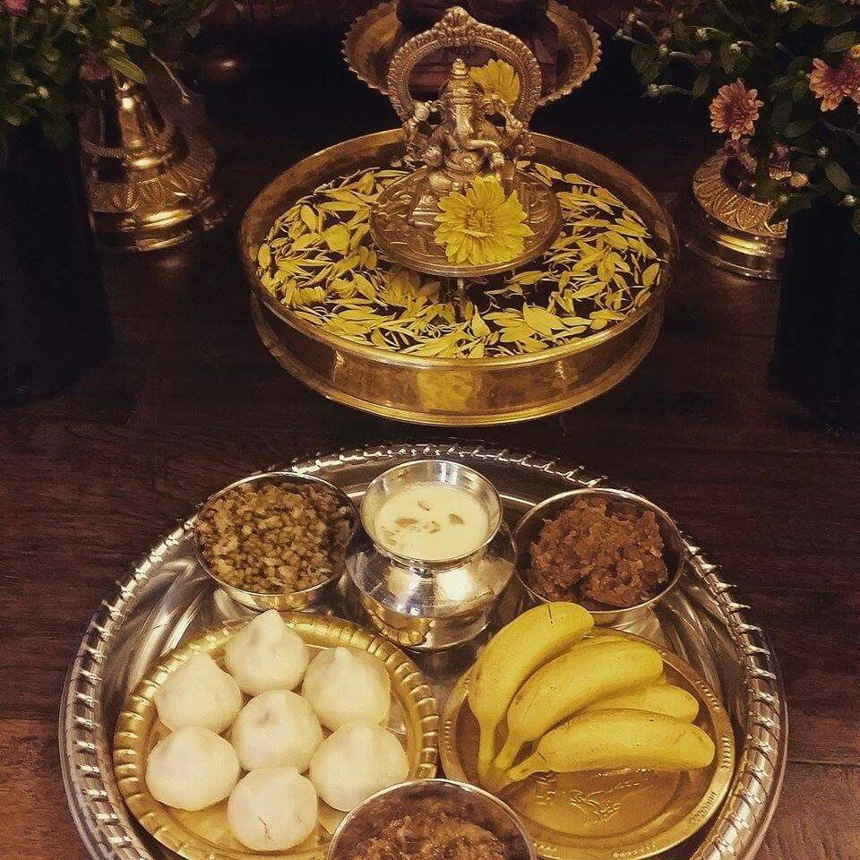 Naivadya Food Offered To The Gods Hindu Dharma In 2019