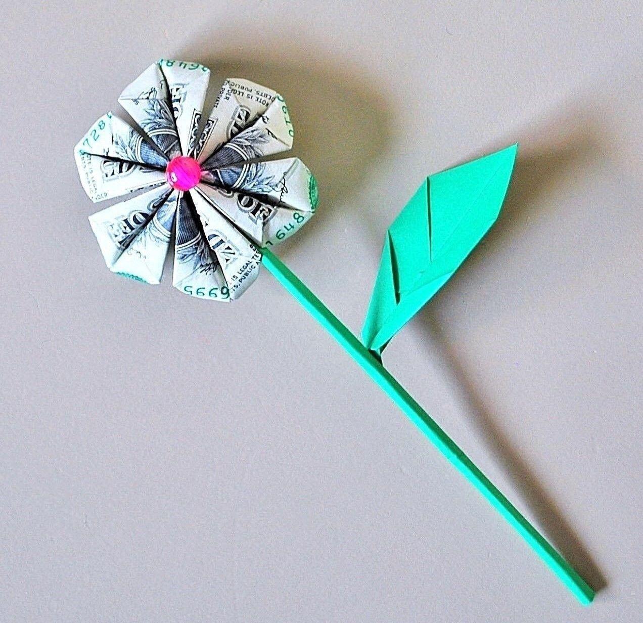 Money Flowers Dollar Flowers Money Origami Flowers Money