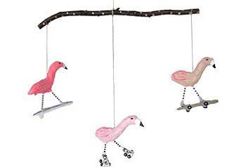 Pretty Flamingos Mobile