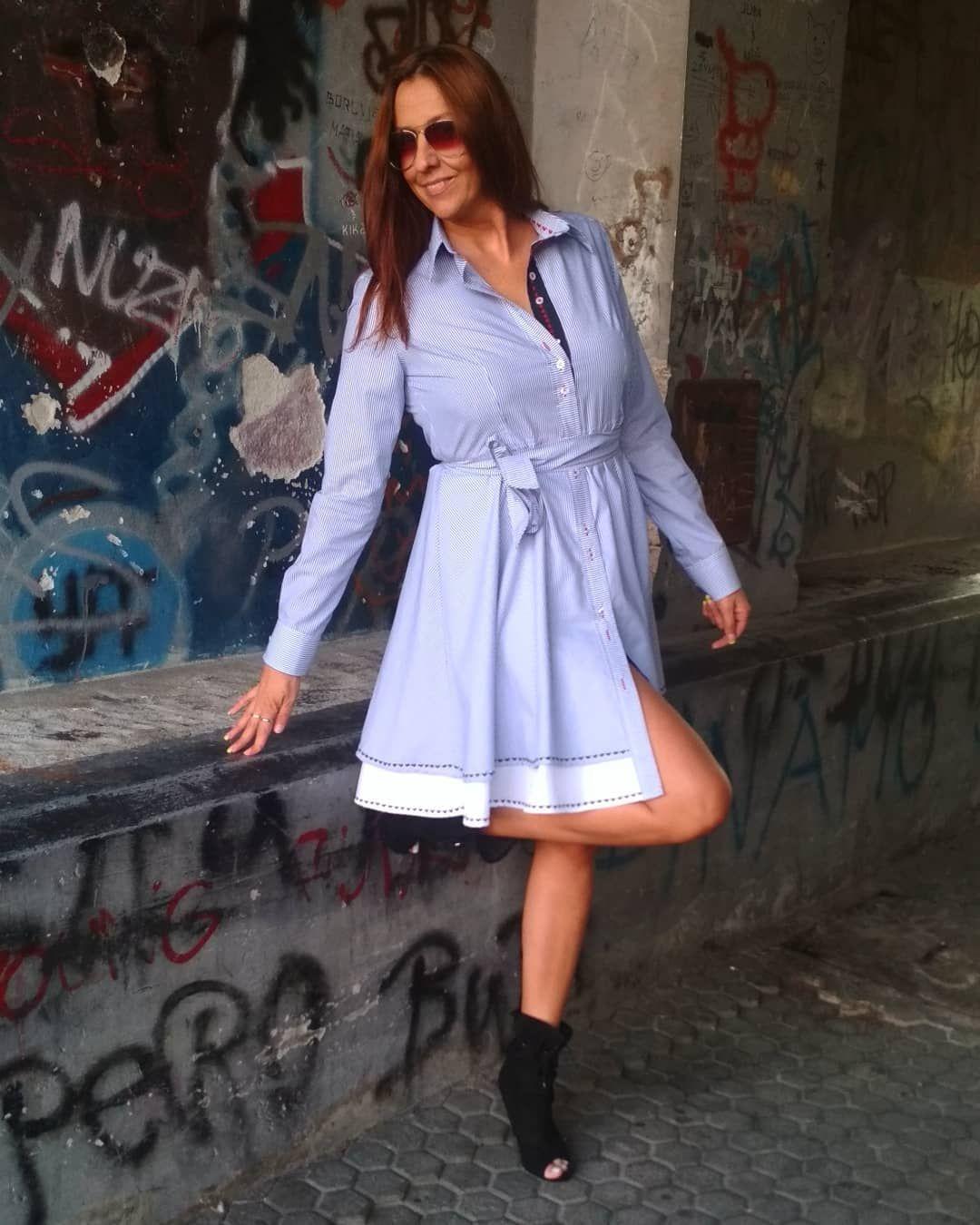 #dressshirts #dress #womanfasion #womandress #haljina #summervibes #summer...