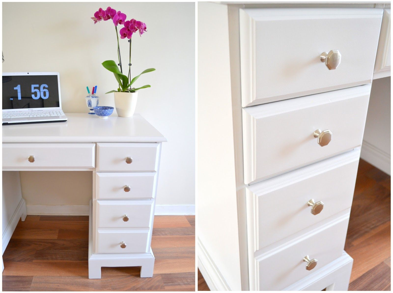 Small White Desk with Drawers - Living Room Sets Sectionals Check ...