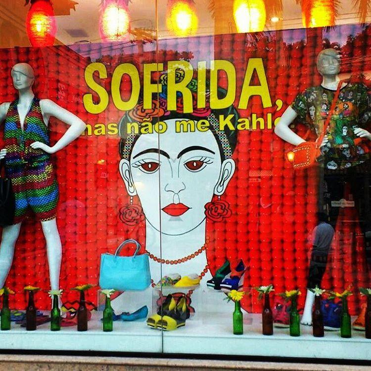 Sofrida? Não... mas sou Frida e não me Kahlo!