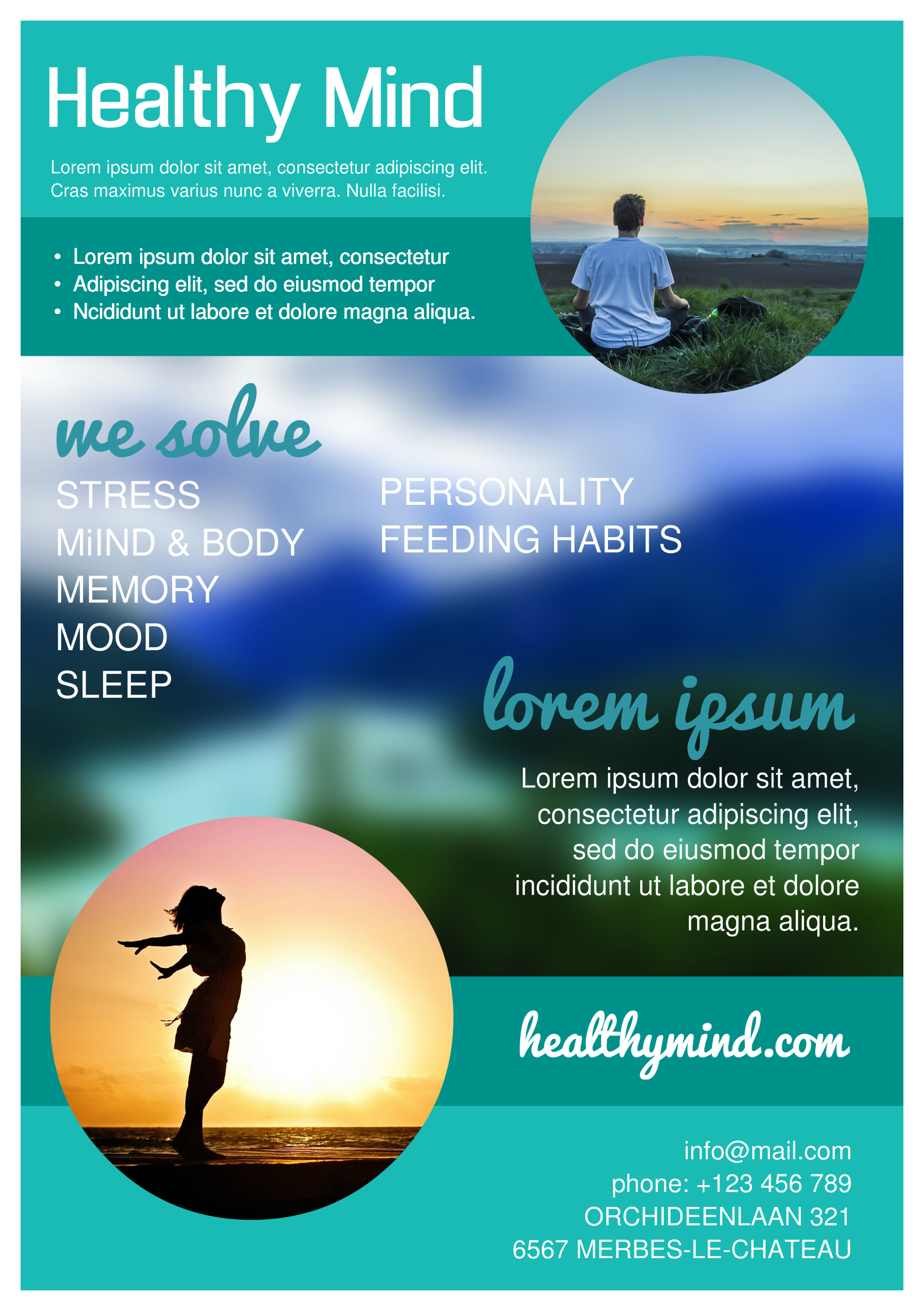 Healthy Mind A Promotional Flyer HttpPremadevideosComA