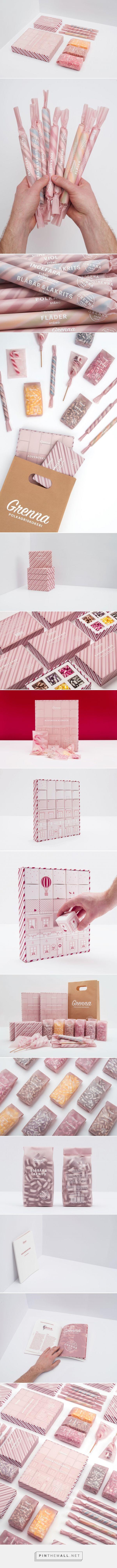Designed by @brobygrafiska students — Grenna Polkagriskokeri . Design team: Johanna Brännström, Viktor Andersson, Pontus Haglund, Gustaf Redmo