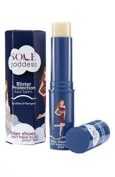 "sole goddess blister protection foot balm $18 - bc even the most ""comfy"" shoes wreck my feet"