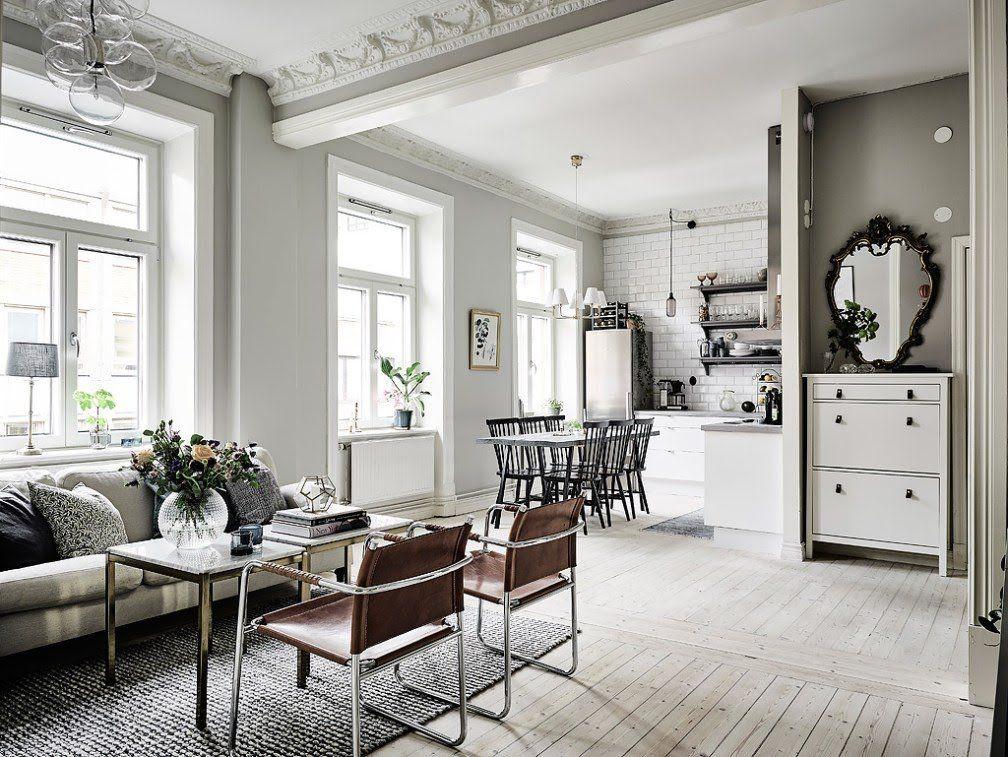 interiores espacios pequeños estilo nórdico escandinavo detalles