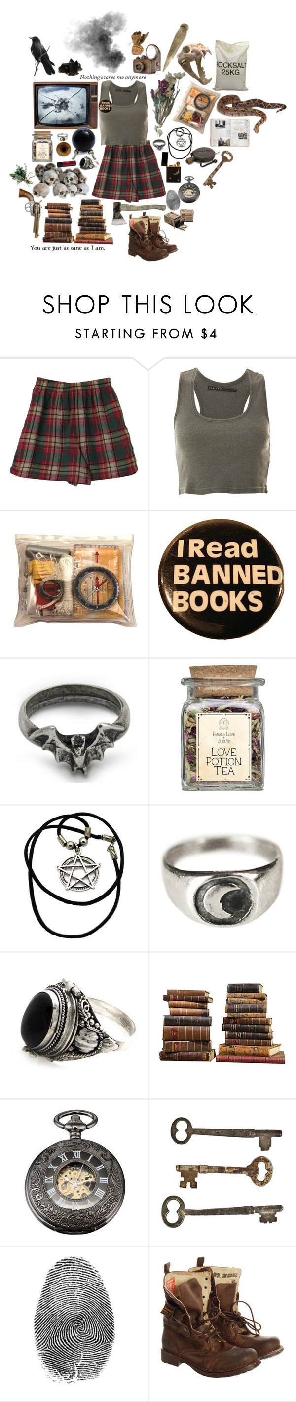 """Monster Hunter"" by causingpanicatthetheater ❤ liked on Polyvore featuring Crafted, Suzannah Wainhouse, NOVICA, Sarreid, Jayson Home, Luna, Superdry and Old West"