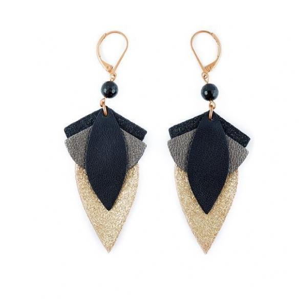 Bo cuir #diyjewelry #diy #jewelry #earrings