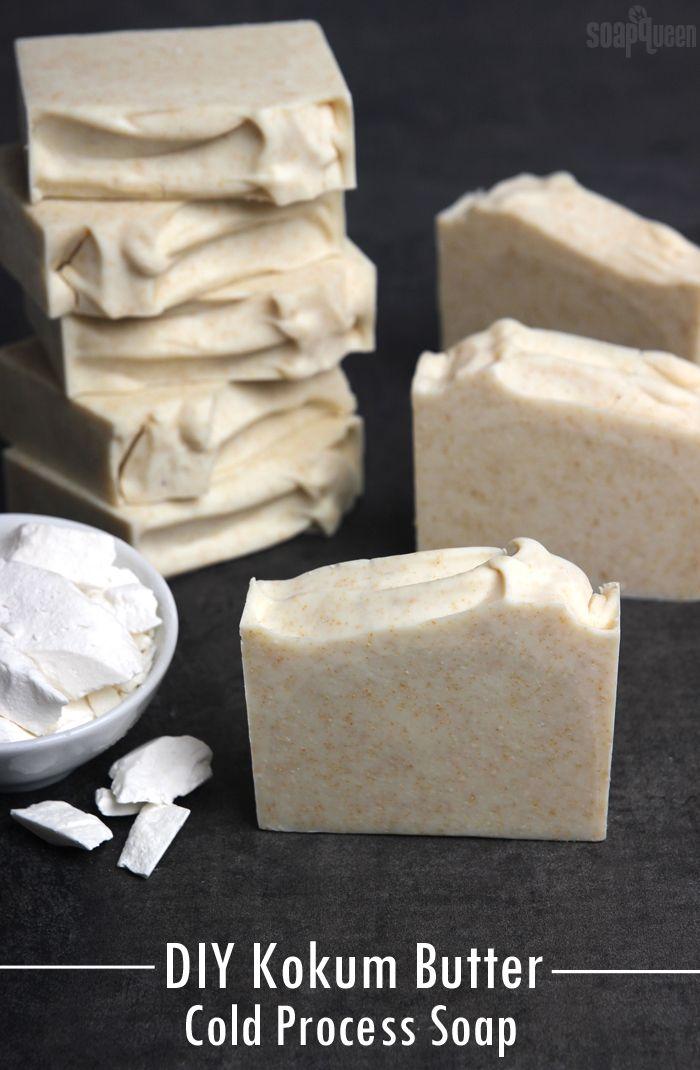 Kokum Butter Cold Process Soap Tutorial - Soap Que