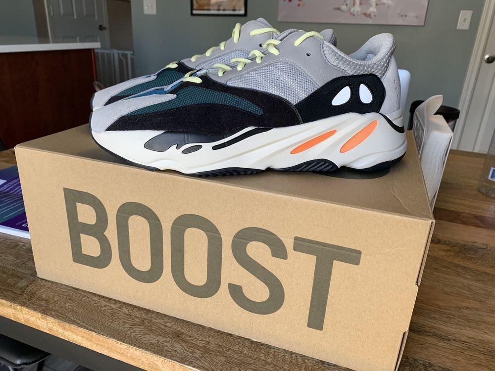 Adidas Yeezy Boost 700 Wave Runner OG Grey Size 12.5
