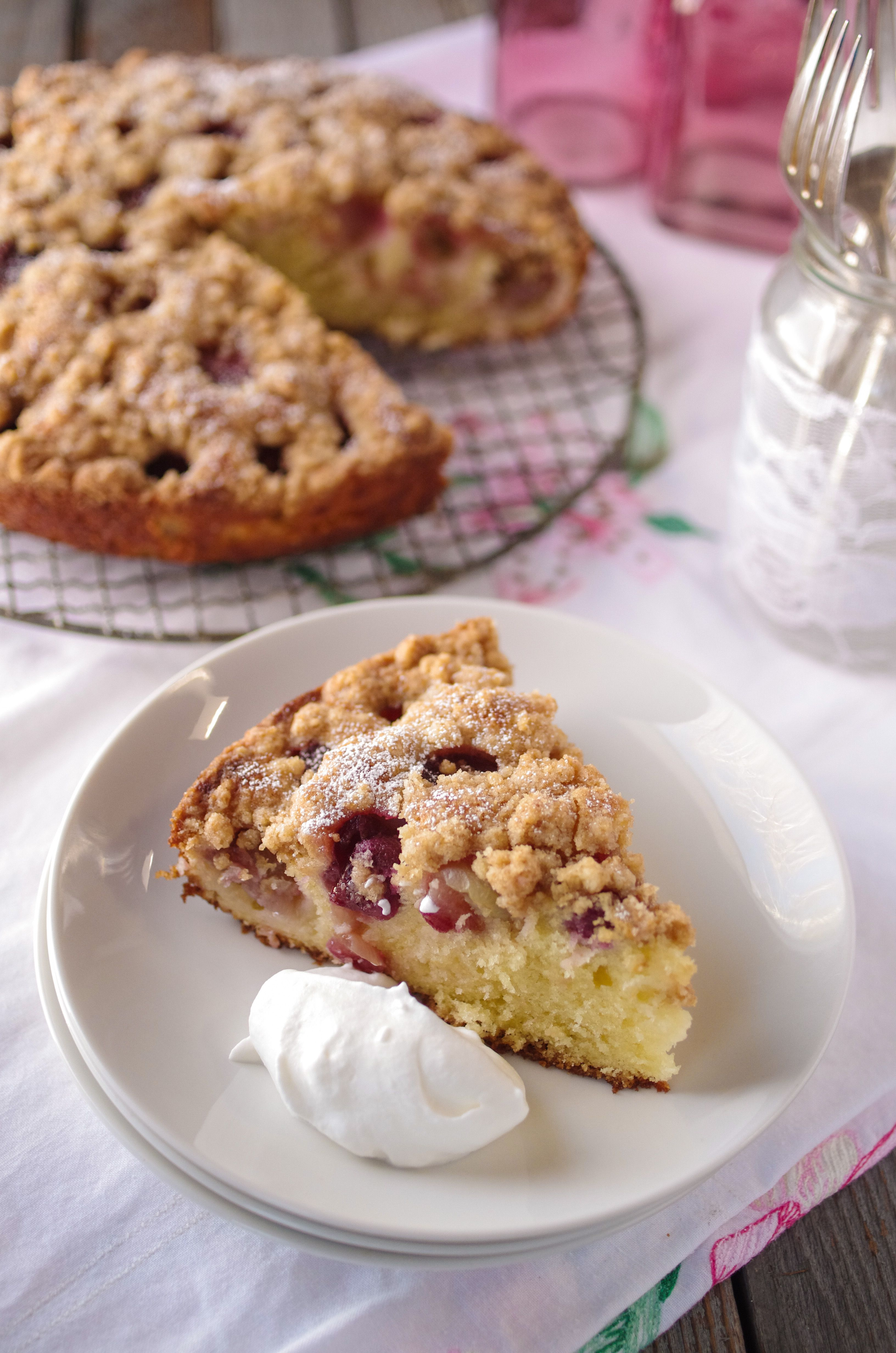 Recipe for red-grape coffee cake (With images) | Coffee ...