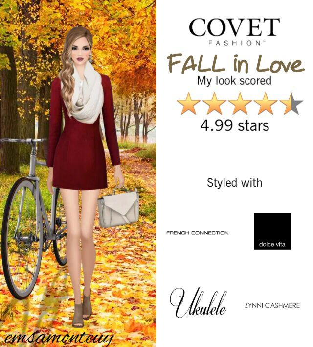 FALL in Love @covetfashion  #covet #covetfashion #fashion #covetfall2015 #fall2015 #autumn